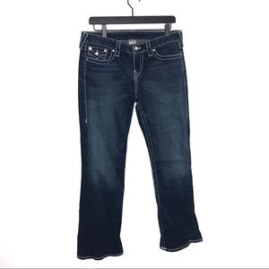 True Religion Disco Becky Big 7 Boot Cut Jeans